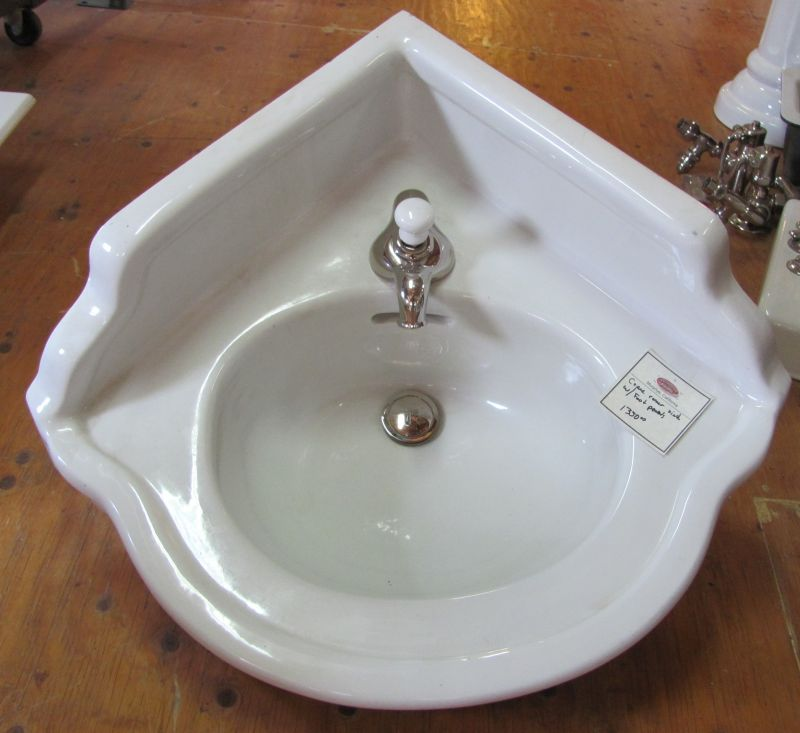 Antique Vintage Corner Sink