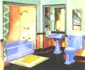 Excellent Kitchen Bath Showrooms Nyc Big Bathroom Pedestal Sinks Ideas Flat Apartment Bathroom Renovation Bathroom Mirror Frame Kit Canada Youthful White Wooden Bathroom Bench BlackWall Mount Bathroom Sink OHW \u2022 View Topic   Pics Of \u0026#39;30s Bathrooms?