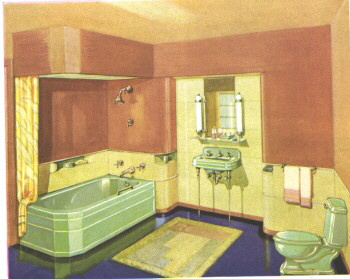 art deco bathroomquot